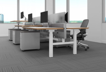 Enwork Grid Height Adjustable Benching